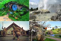 Imagen Hobbiton Movie Set and Rotorua's Geothermal Valley Tour departing Auckland