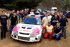 Imagen Barossa Rally Car Drive 2 Car Blast 16 Laps and Ride Experience