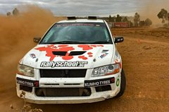 Victoria Rally Car Drive 2 Car Blast 16 Laps and Ride