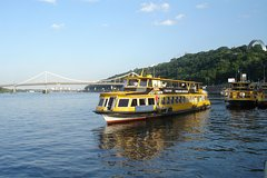 River Dnipro Sightseeing Cruise in Kiev