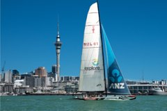 Imagen America's Cup Sailing on Auckland's Waitemata Harbour