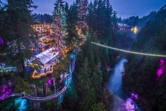 Winter Wonderland Adventure at Vancouver's Capilano Suspension Bridge
