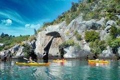 Imagen Half-Day Kayak to the Maori Rock Carvings in Lake Taupo