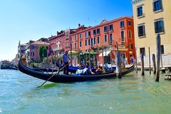 Venice from Rome by High Speed Train with Skip The Line to St Mark's Basilica