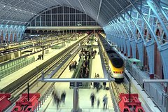 Imagen London St. Pancras Eurostar Private Arrival Transfer