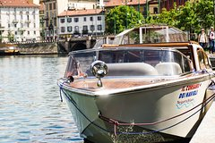 Imagen Milan Navigli Sightseeing Cruise on a Motorboat with Local Guide
