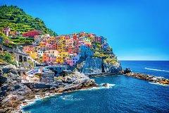 Private Full-Day Cinque Terre Five Villages Train Tour from La Spezia
