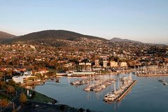 Tasmania Super Saver: Hobart Sightseeing Coach Tram Tour plus Port Arthur Tour