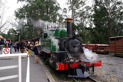 Imagen Puffing Billy Train With Optional Penguin Parade or Melbourne City Tour