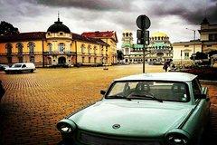 Imagen Excursion de 2heures sur l'histoire communiste de Sofia dans une voiture Trabant classique