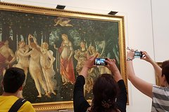 Individual Afternoon Uffizi Gallery Tour only for you