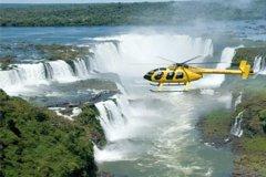 Imagen Vuelo en helicóptero con vista panorámica sobre las cataratas del Iguazú