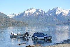Imagen Medio día de pesca en el lago Nahuel Huapi- los lagos Moreno o Gutiérrez.