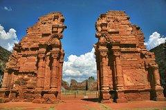 Imagen Ruinas de San Ignacio y Minas de Wanda: excursión de día completo desde Puerto Iguazú