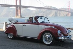 Self-Guided Tour of San Francisco in a Classic VW Bug