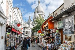 Imagen Montmartre walking tour up to the Sacre Coeur and skip the line to Musee Orsay