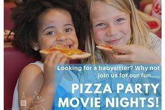 Imagen Movie Madness: Pizza Party Movie Night (Supervised Children's Event)