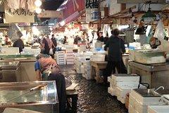 Salir de la ciudad,Excursiones de más de un día,Excursión a Kioto,Tour por el Mercado de Tsukiji