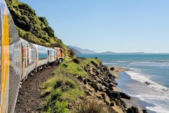 Imagen Coastal Pacific - Picton to Christchurch by Train