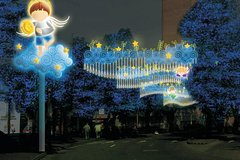 Imagen Combo Tour: Ziplines Adventure and Christmas Lights Tour of Medellín