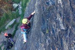 Imagen Lead Climbing Wanaka - Full Day
