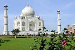 Delhi:Full Day Private Tour of Agra with Taj Mahal,Agra Fort and Baby Taj