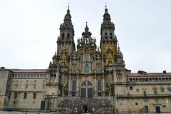 Santiago de Compostela and Viana do Castelo from Porto