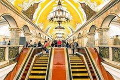 Moscow Metro Daily Tour: Small Group