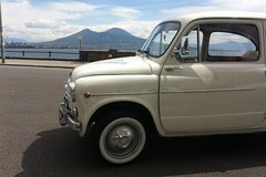 Private Tour: Naples Food Tasting Tour by Vintage Fiat 500 or Fiat 600