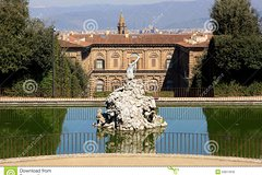 PITTI PALACE AND ITS GARDENS (BOBOLI & BARDINI)