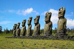 Easter Island Moai Archaeology Tour: Ahu Akivi, Ahu Tahai and Puna Pau� Quarry.