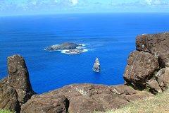 Shore Excursion: Easter Island Half Day Tour to Orongo, Ahu Vinapu and Rano Kau