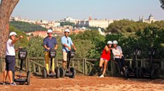 Imagen Madrid 90-minute Guided Segway Tour