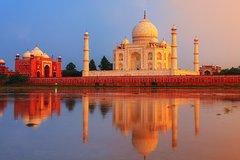 Full Day Tour Taj Mahal including Agra Fort & Itimad-ud-Daulah