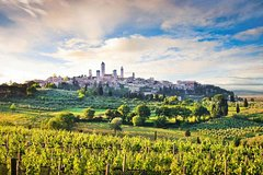 Siena, San Gimignano, Monteriggioni and Chianti Wine Tasting Tour from Flor