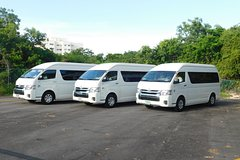 Cancun Airport-Hotel-Airport Private VAN Roundtrip Transportation Private Car Transfers