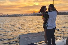 Private Romantic Catamaran Cruise for Two on Sydney Harbour Private Car Transfers