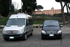 Shuttle de luxe Fiumicino airport - Rome city