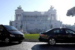 Shuttle de luxe Rome city to Fiumicino airport