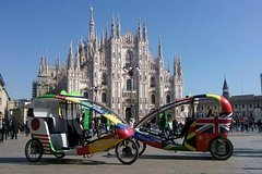 Best of Milan Rickshaw Experience and Duomo Cathedral entrance ticket