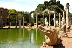 Private Tivoli: Hadrian's Villa and Villa d'Este with Pick-up from Rome