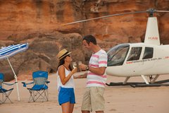 Imagen Broome Helicopter Flight with a Difference: Including Remote Picnic on Cable Beach
