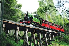 Imagen Dandenong Ranges Tour by Puffing Billy Steam Train
