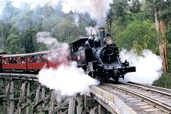 Imagen Puffing Billy & Wineries: Full-Day Tour from Melbourne
