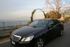 Private Transfer Naples Airport to Sorrento or Vice Versa with English Speaking Driver and 2 Hours in Pompeii