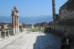 Private Day Tour to Pompeii and Herculaneum from Sorrento NO GUIDE