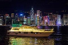 Symphony of Lights Hong Kong Hop-on Hop-off Yacht Night Cruise