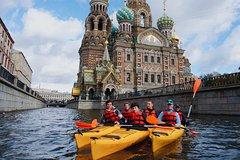 Kayaking around Saint Petersburg
