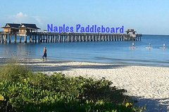 Half day paddle board rental, touring in the paradise waters of Naples City