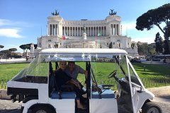 ROME GOLF CART PRIVATE TOUR WITH A LOCAL
